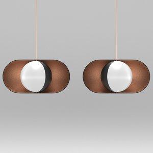 moonlight pendant lamp 3D model