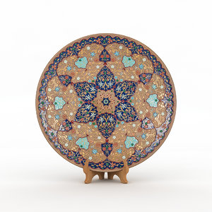traditional hand plate model