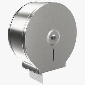 3D jumbo toilet tissue dispenser