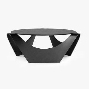 3D model nanagona coffee table