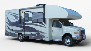 rv vehicle 3D model