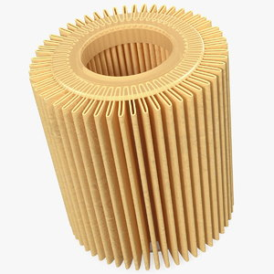 3D oil filter element