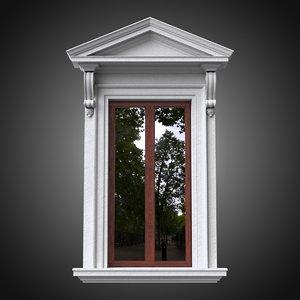 classical window frame model