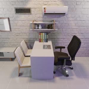 office blender 3D model