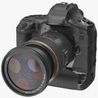 Digital Single Lens Reflex Camera with Zoom