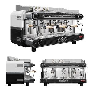 3D sanremo torino coffee machine model