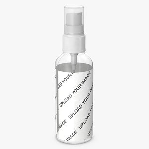 3D cosmetic bottle lotion 100