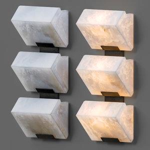 3D pierre chareau sconces