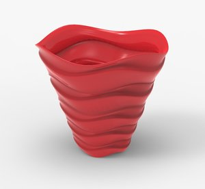 vase interior decoration model