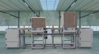 Automatic screw machine production line