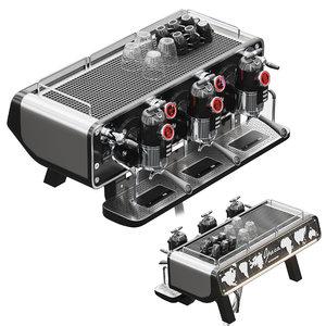 sanremo opera coffee machine 3D model