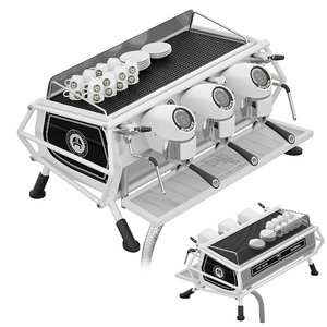 3D sanremo cafe racer coffee machine model