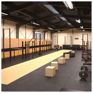 3D crossfit training center