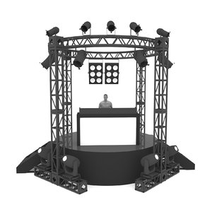 3D stage rigging