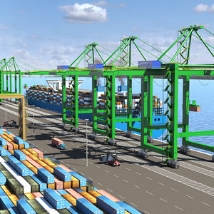 3D container terminal