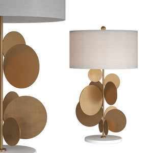 3D table lamp pastille 373