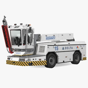safeaero 220 deicing vehicle model