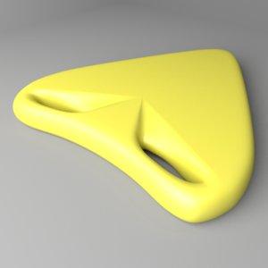 3D swimming float 6 model