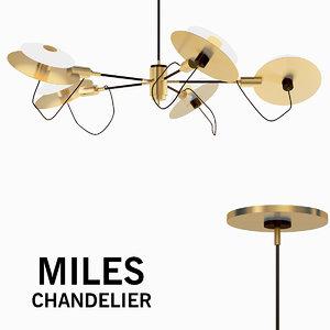chandelier lamp 3D model