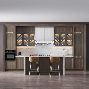 interior set 3D model