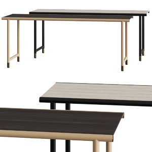 3D table console