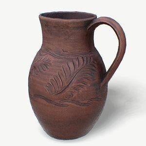 3D scan clay jug