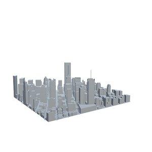 3D new york city time