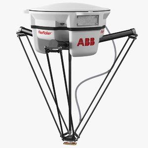 3D parallel robot abb irb360