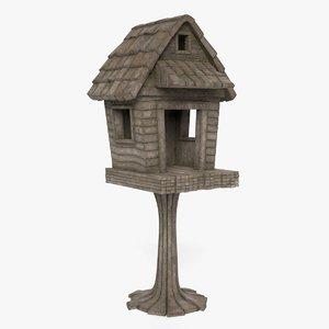 garden treehouse 3D