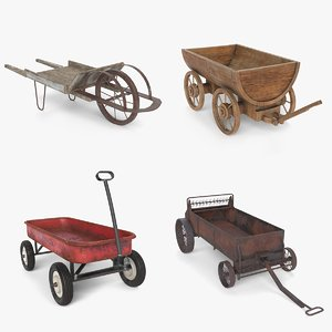 old wagon model