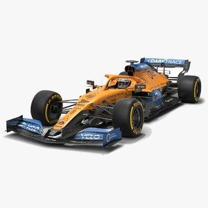 3D mclaren mcl35 f1 formula 1