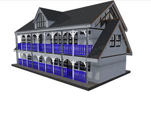 building wood 2 3D
