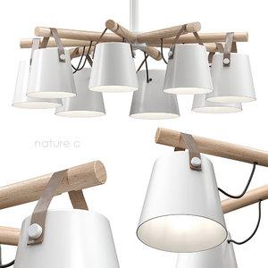 pendant light natura 3 model