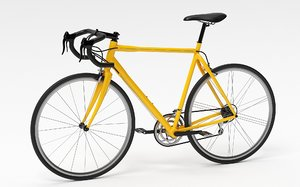 bicycle vehicle cycle 3D model