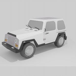 car unity godot 3D model