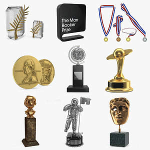 3D model medals awards