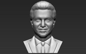 bradley coper bust printing model