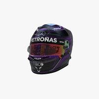 Hamilton helmet 2020