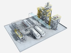 3D model industrial equipment 5
