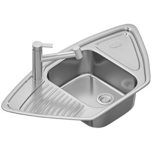 3D sink blanco tipo ambis-s model