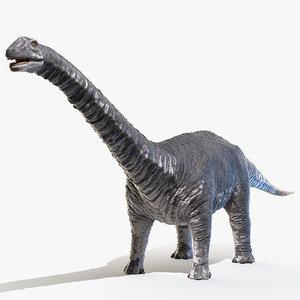 3D model argentinosaurus