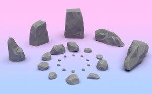 3D stones games