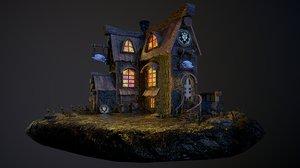 3D tavern model