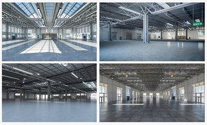 warehouse interior 4 3D model