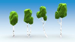 3D model games trees