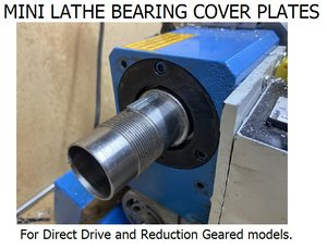 mini lathe bearing cover 3D model