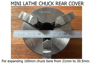 mini lathe 100mm chucks 3D model