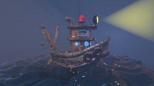 3D boat black jack