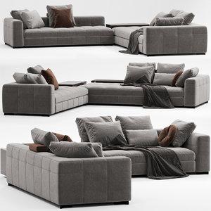 sofa minotti blazer model
