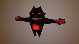 3D character optimize mobile model
